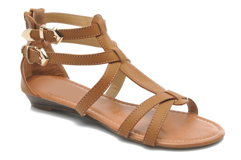 Sandales et nu-pieds Refresh Belle Marron vue détail/paire
