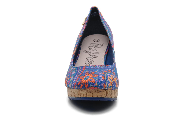 Escarpins Refresh Bartimé Bleu vue portées chaussures