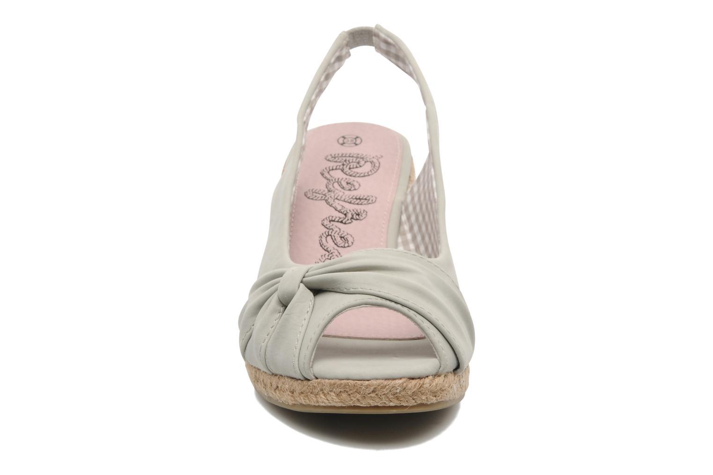 Sandalen Refresh Britt grau schuhe getragen