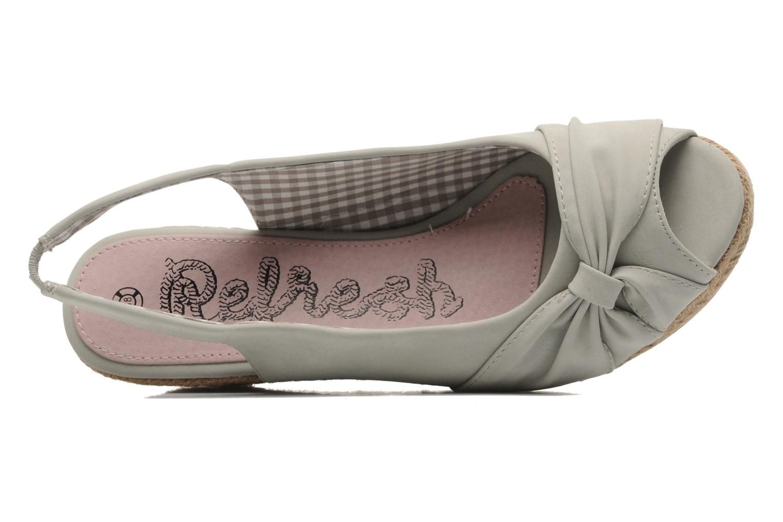 Sandalen Refresh Britt grau ansicht von links