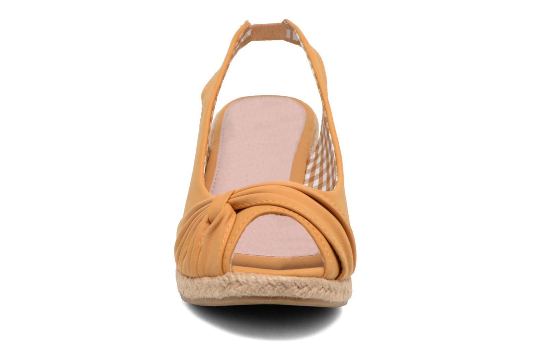 Sandalen Refresh Britt braun schuhe getragen
