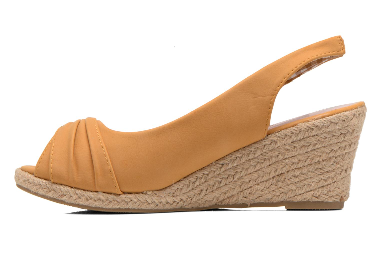 Sandalen Refresh Britt braun ansicht von vorne
