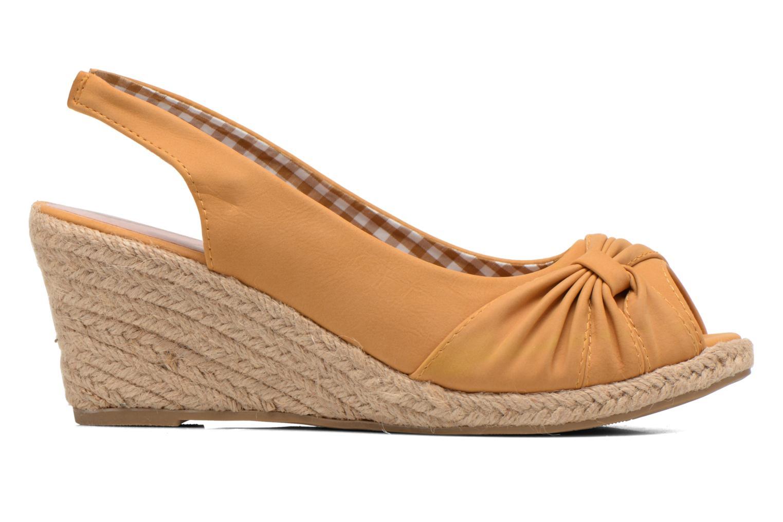 Sandalen Refresh Britt braun ansicht von hinten