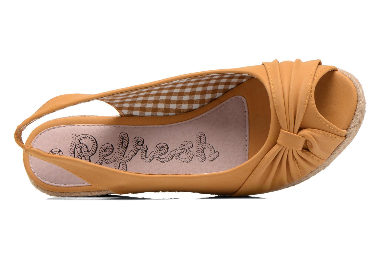 Sandalen Refresh Britt braun ansicht von links