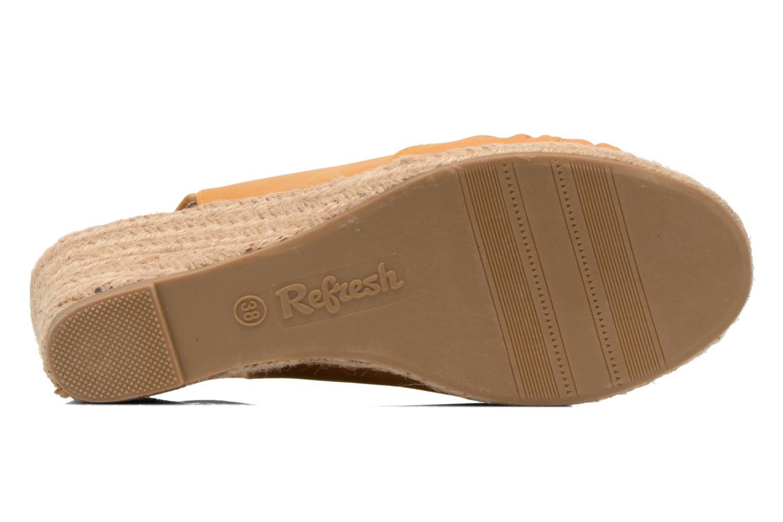 Sandalen Refresh Britt braun ansicht von oben