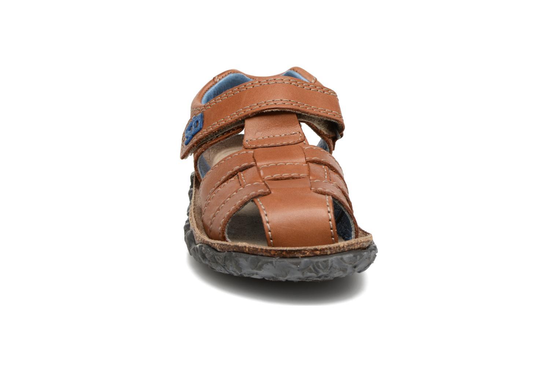 Sandals Stones and Bones NATAN Brown model view