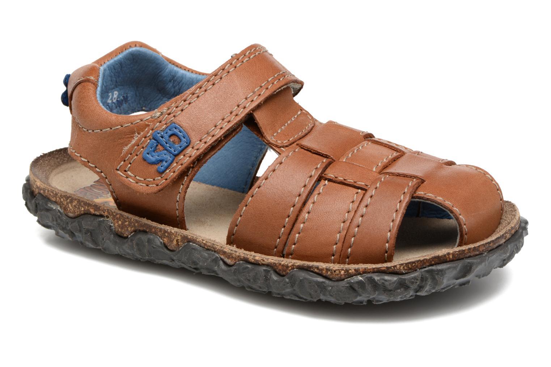 Sandaler Stones and Bones NATAN Brun detaljeret billede af skoene