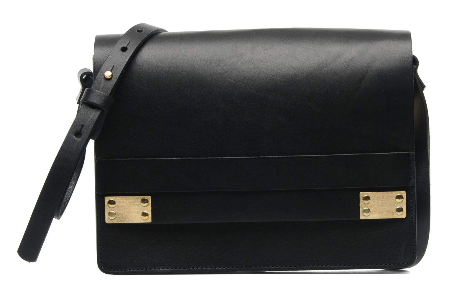 Siw leather Crossover bag Black