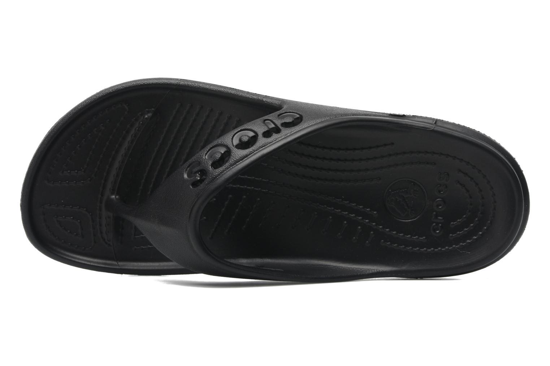 Slippers Crocs Baya Flip Zwart links