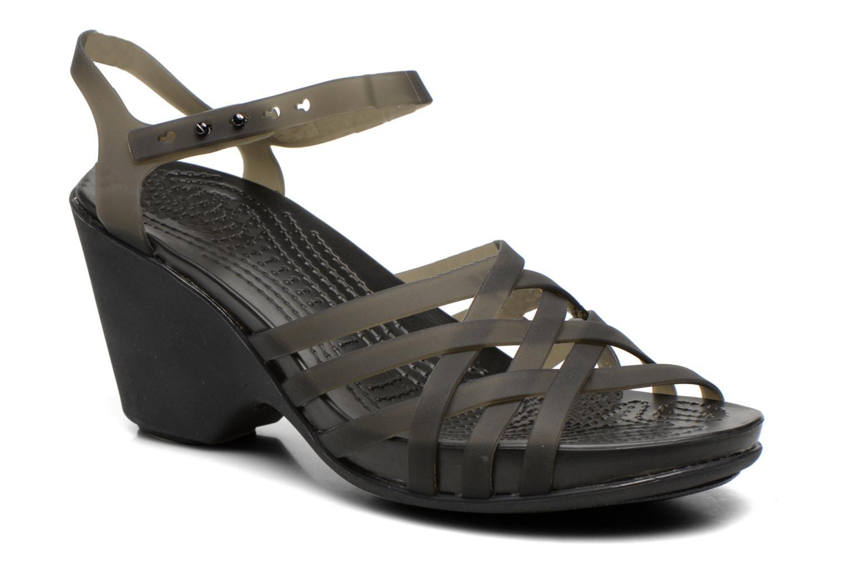 Sandalen Crocs Huarache Sandal Wedge schwarz detaillierte ansicht/modell