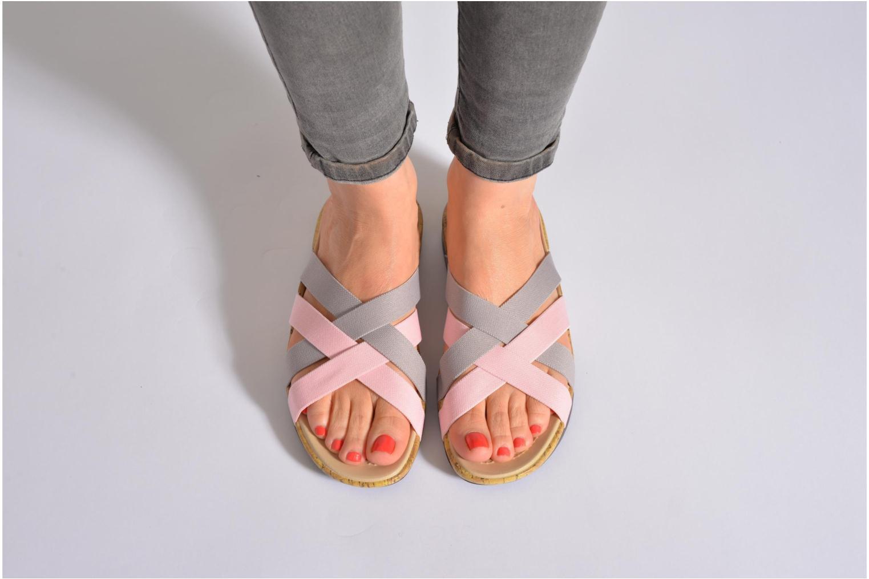 Wedges Crocs Crocs Edie Stretch Sandal W Groen onder