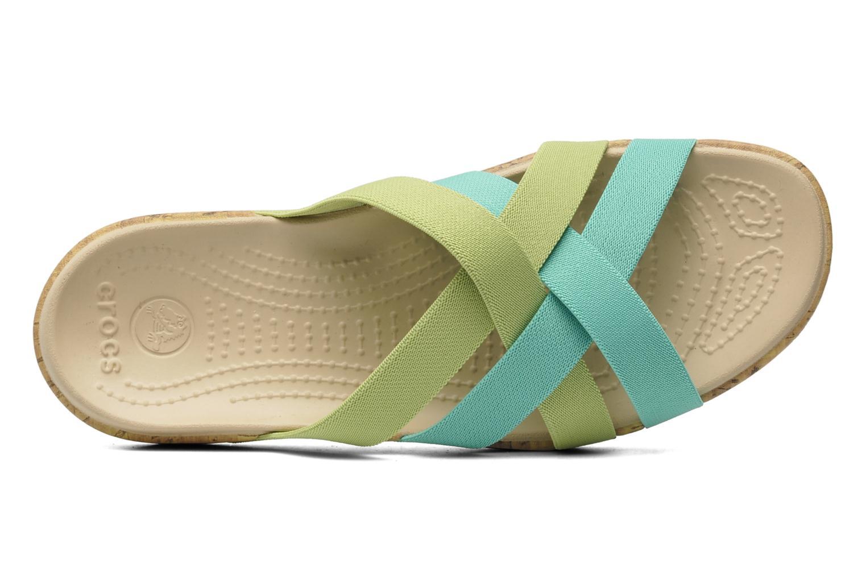 Wedges Crocs Crocs Edie Stretch Sandal W Groen links