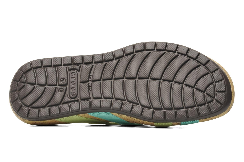 Wedges Crocs Crocs Edie Stretch Sandal W Groen boven