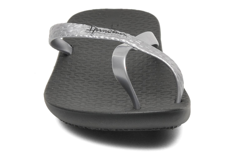 Zehensandalen Ipanema Mix Colors K schwarz schuhe getragen