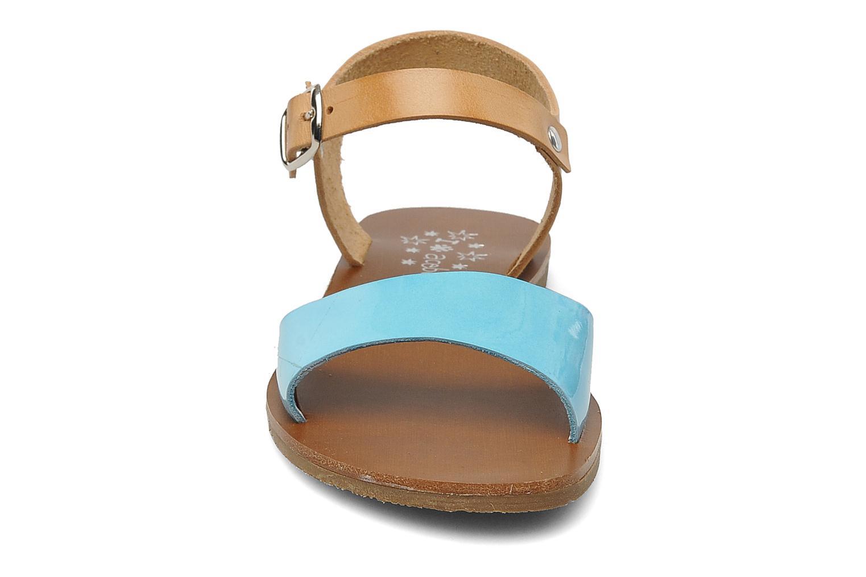 Sandales et nu-pieds Acebo's Dhalia Bleu vue portées chaussures