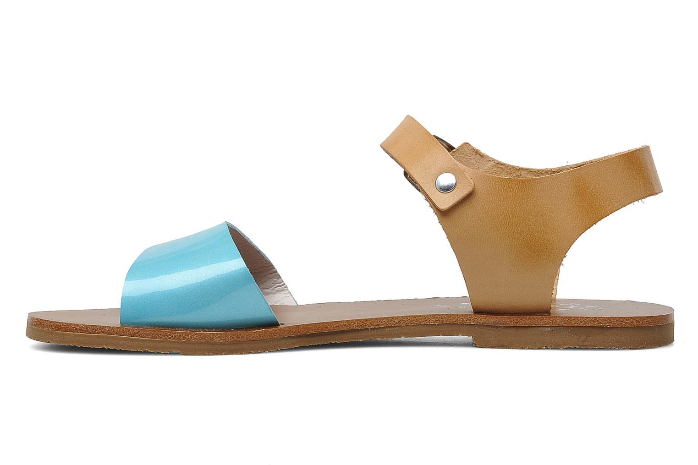 Sandales et nu-pieds Acebo's Dhalia Bleu vue face