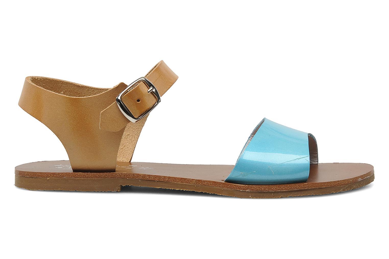 Sandales et nu-pieds Acebo's Dhalia Bleu vue derrière