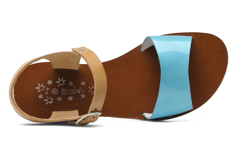 Sandales et nu-pieds Acebo's Dhalia Bleu vue gauche