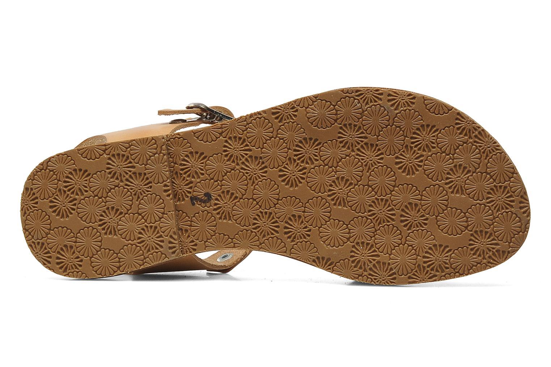 Sandales et nu-pieds Acebo's Dhalia Bleu vue haut