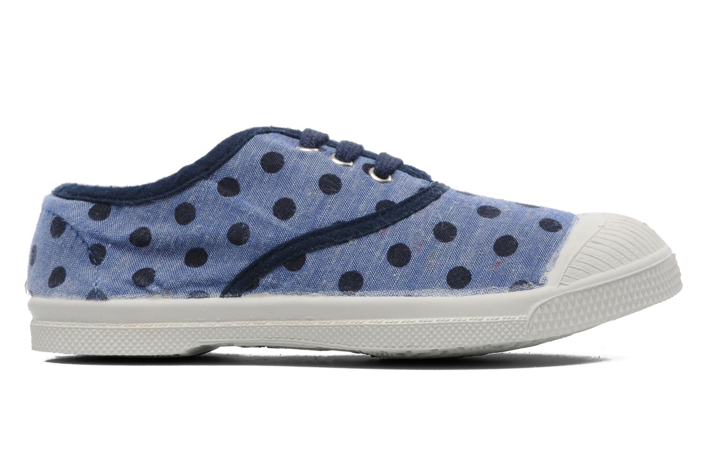 Baskets Bensimon Tennis Dots E Bleu vue derrière