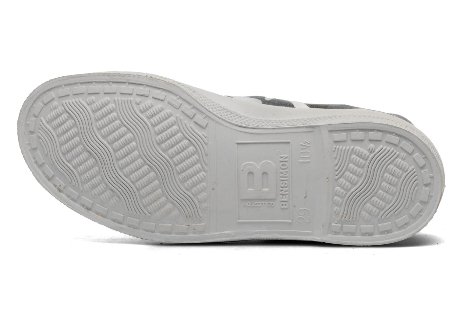 Trainers Bensimon Tennis Camofluo E Grey view from above