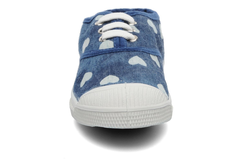 Baskets Bensimon Tennis Bleachylove E Bleu vue portées chaussures