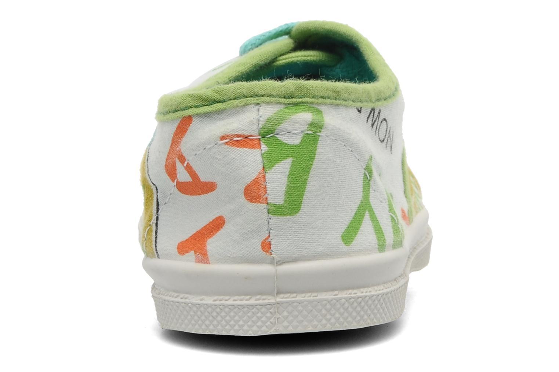 Sneakers Bensimon Tennis Aloha E Wit rechts