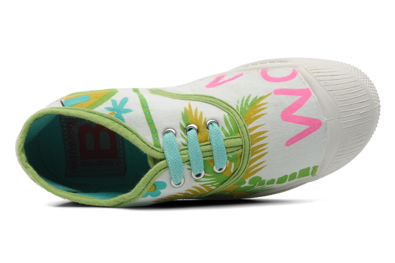 Sneakers Bensimon Tennis Aloha E Wit links