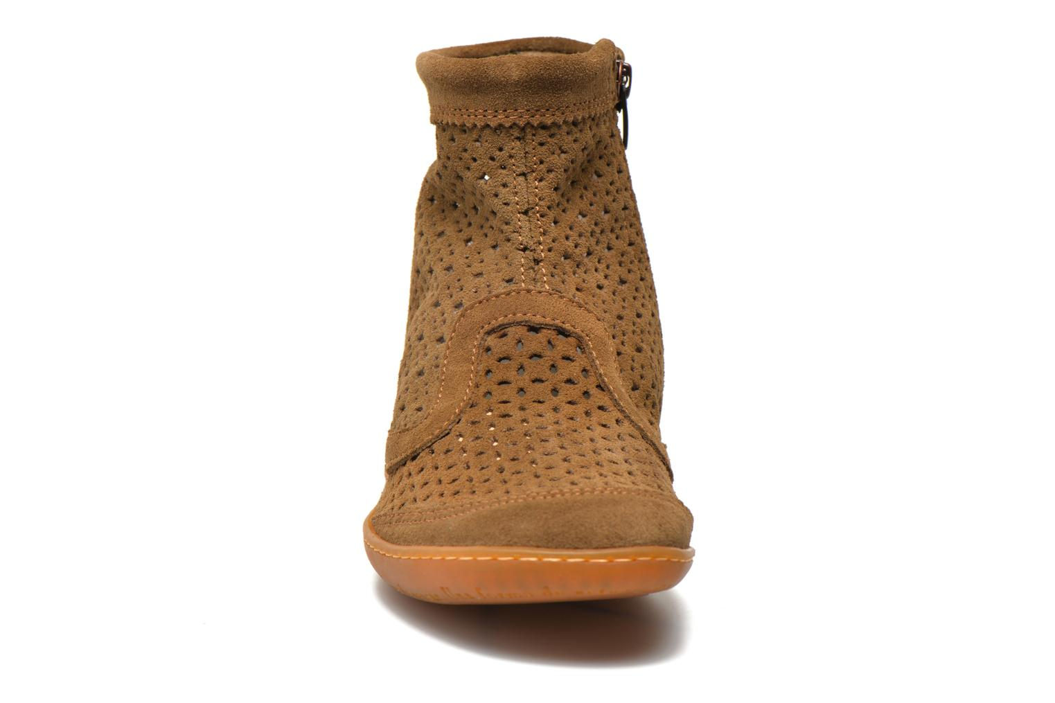 Ankle boots El Naturalista El Viajero N262 W Brown model view