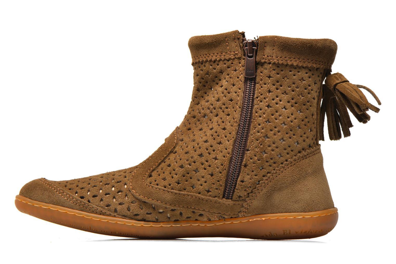 Stiefeletten & Boots El Naturalista El Viajero N262 W braun ansicht von vorne