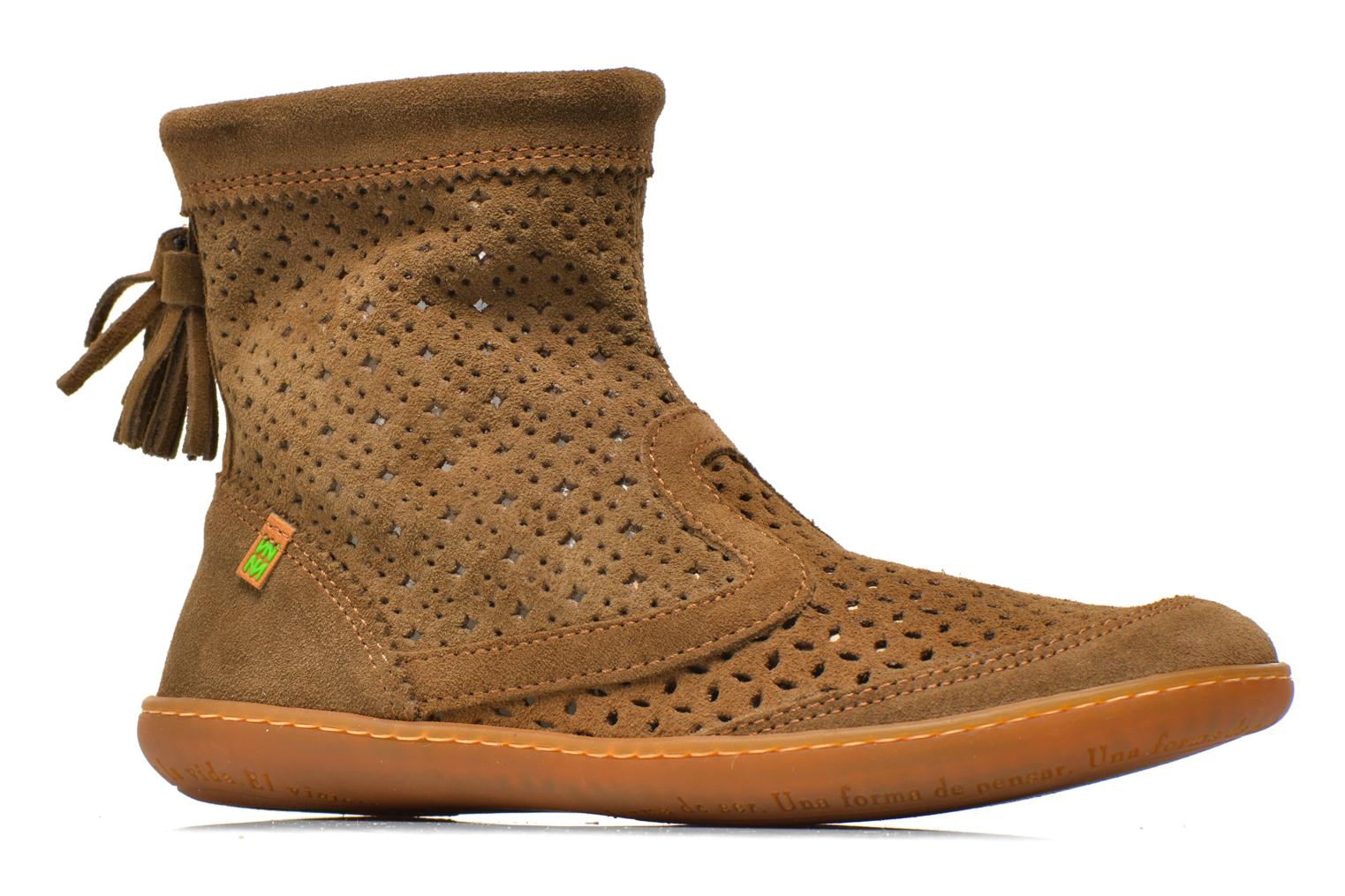 Ankle boots El Naturalista El Viajero N262 W Brown back view