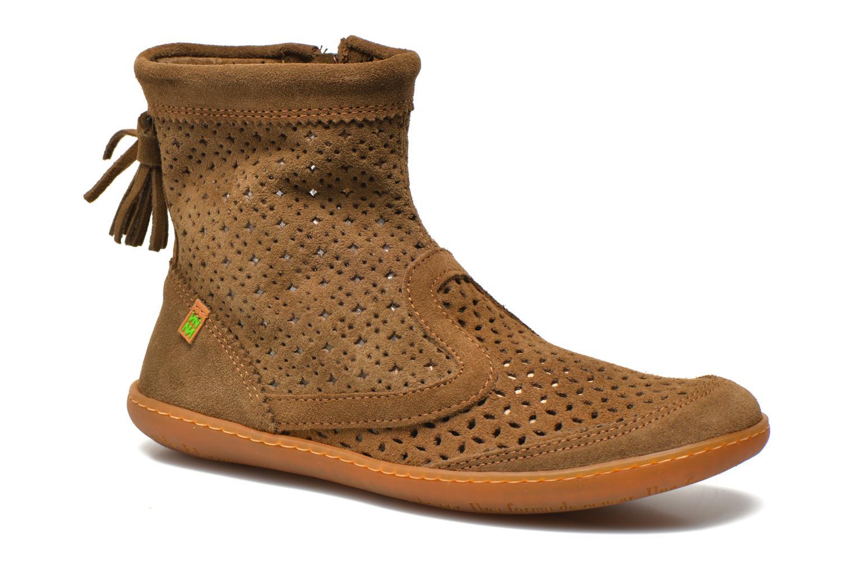 Ankelstøvler El Naturalista El Viajero N262 W Brun detaljeret billede af skoene