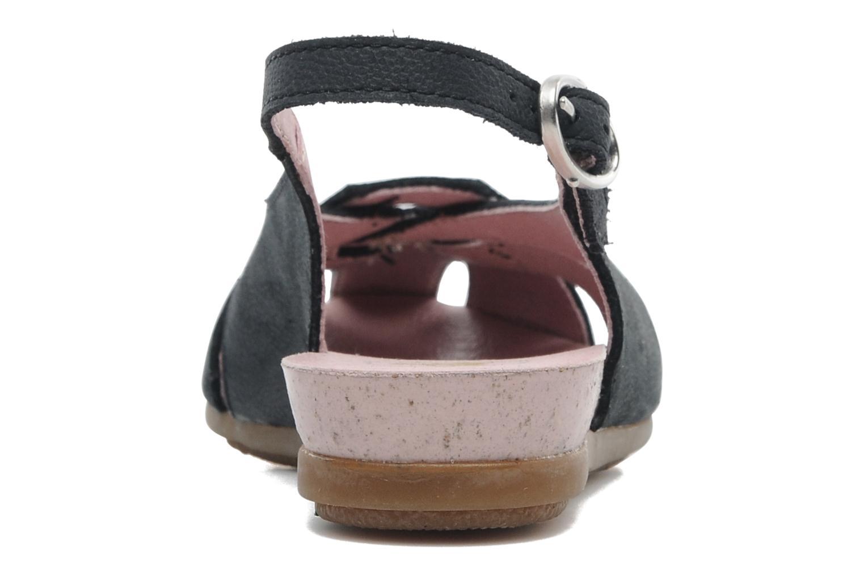 Sandales et nu-pieds El Naturalista Stella 031 Bleu vue droite