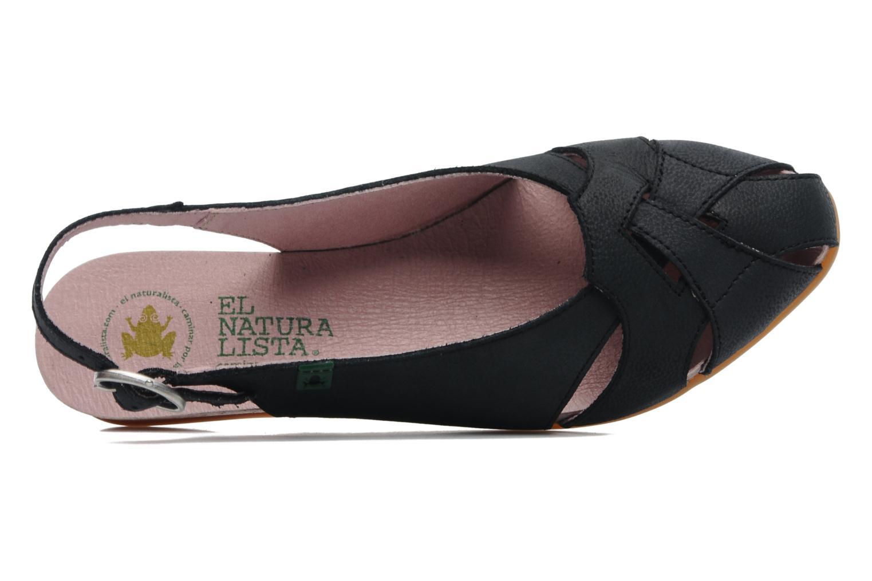 Sandales et nu-pieds El Naturalista Stella 031 Bleu vue gauche