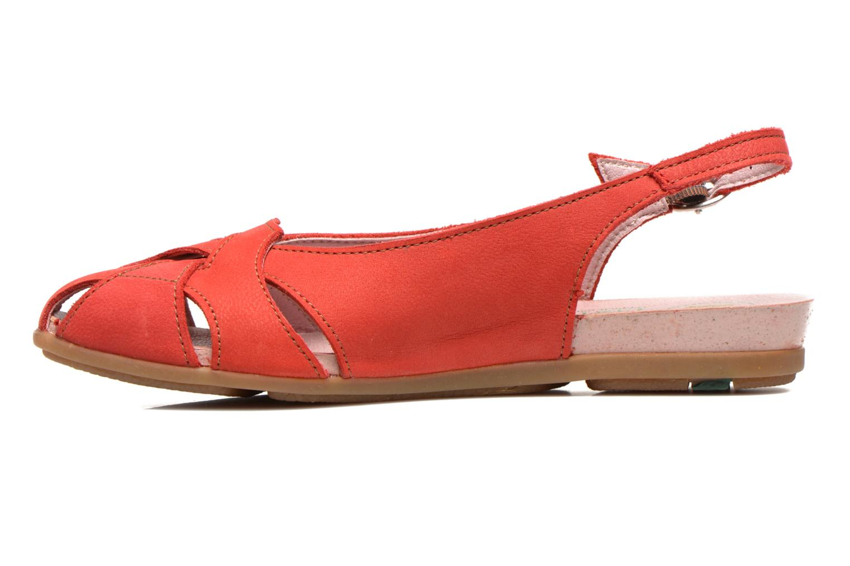 Sandales et nu-pieds El Naturalista Stella 031 Rouge vue face