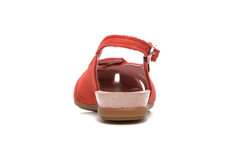 Sandales et nu-pieds El Naturalista Stella 031 Rouge vue droite