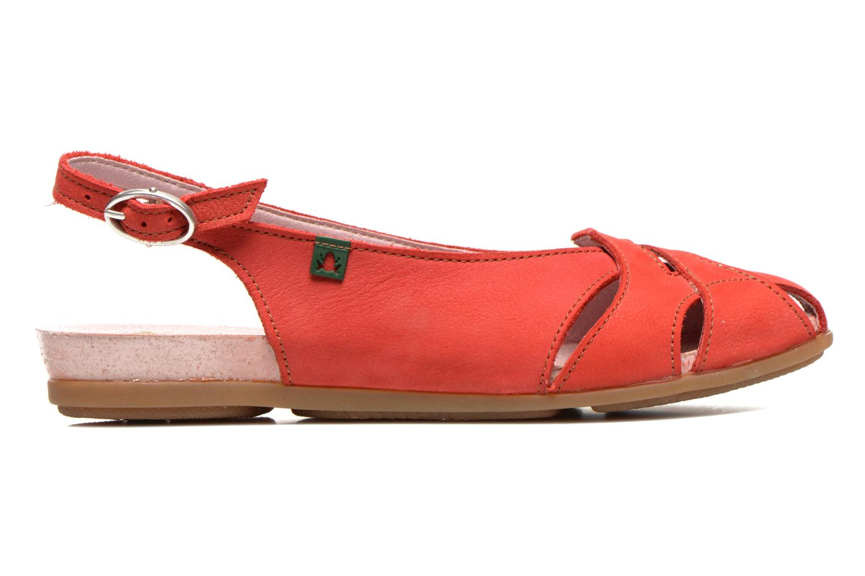Sandales et nu-pieds El Naturalista Stella 031 Rouge vue derrière