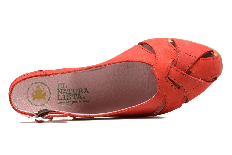 Sandales et nu-pieds El Naturalista Stella 031 Rouge vue gauche