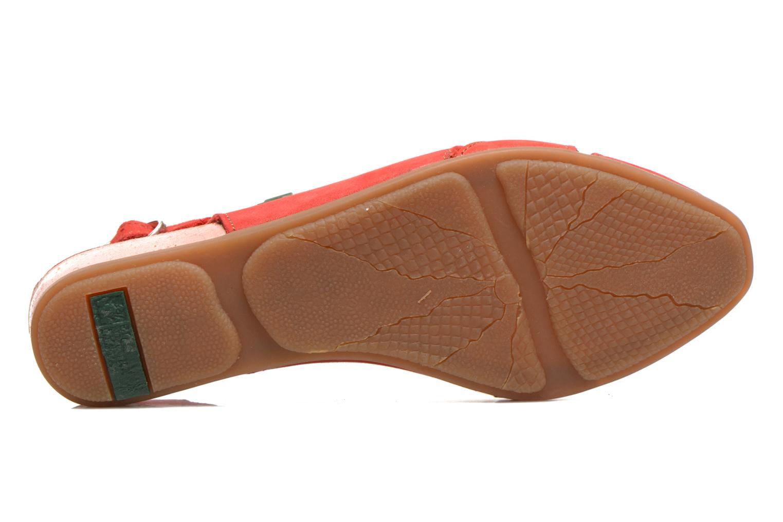 Sandales et nu-pieds El Naturalista Stella 031 Rouge vue haut
