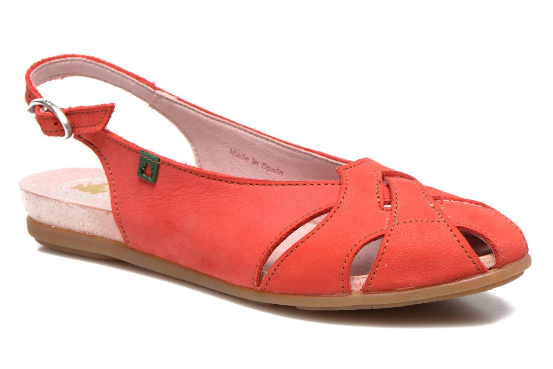 Sandales et nu-pieds El Naturalista Stella 031 Rouge vue détail/paire
