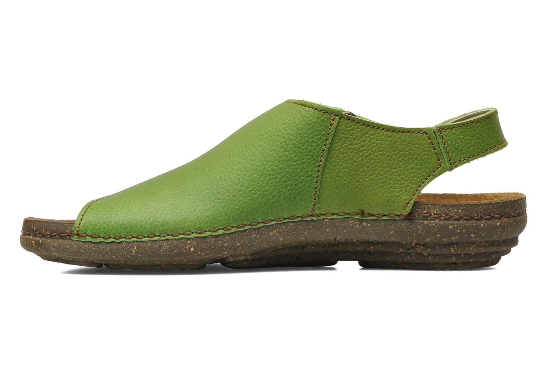 Sandals El Naturalista Torcal N309 Green front view