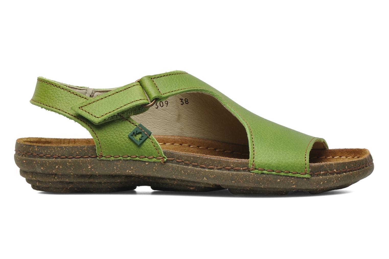 Sandals El Naturalista Torcal N309 Green back view
