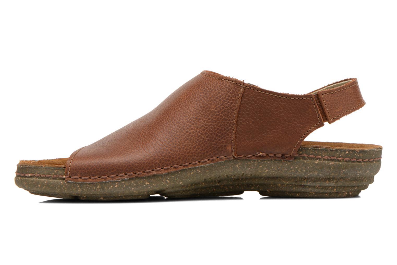 Sandales et nu-pieds El Naturalista Torcal N309 Marron vue face