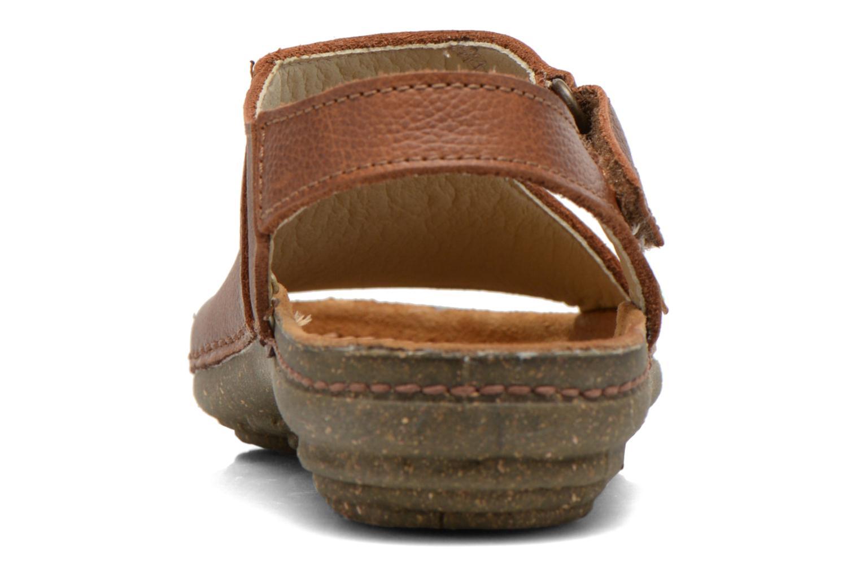 Sandales et nu-pieds El Naturalista Torcal N309 Marron vue droite