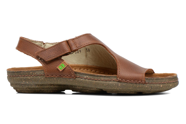 Sandales et nu-pieds El Naturalista Torcal N309 Marron vue derrière