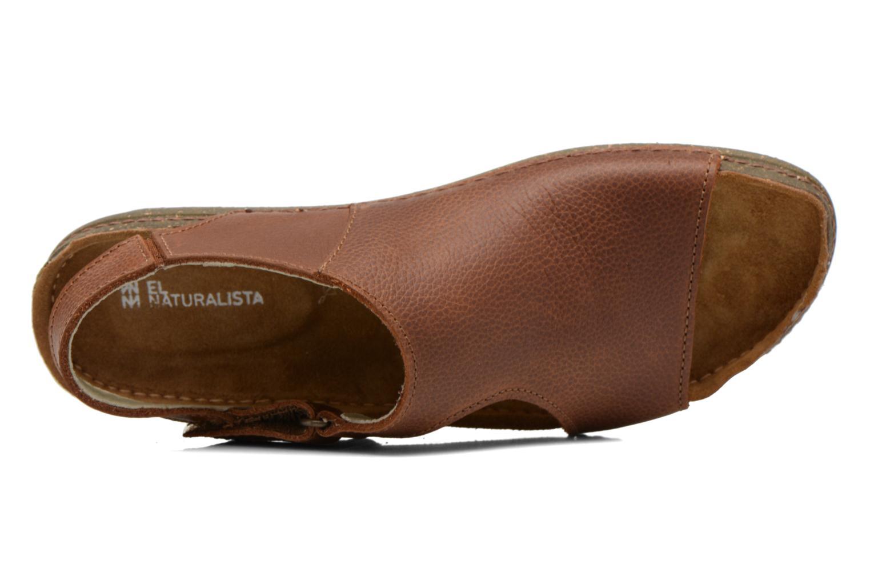 Sandales et nu-pieds El Naturalista Torcal N309 Marron vue gauche