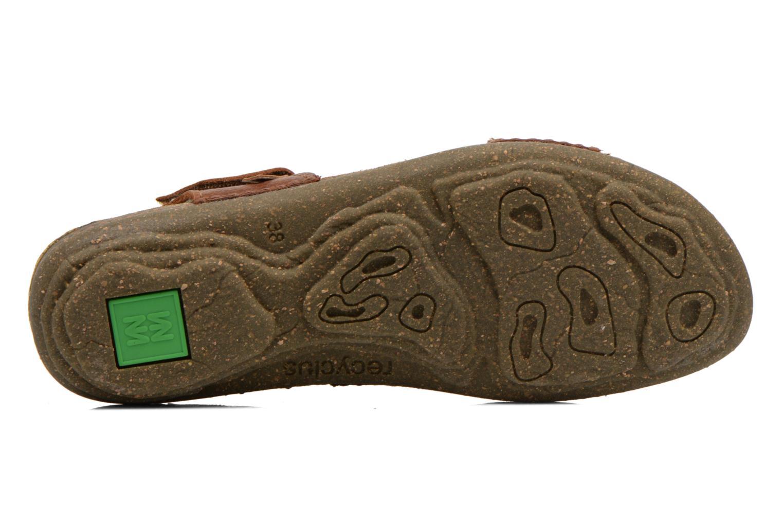 Sandales et nu-pieds El Naturalista Torcal N309 Marron vue haut