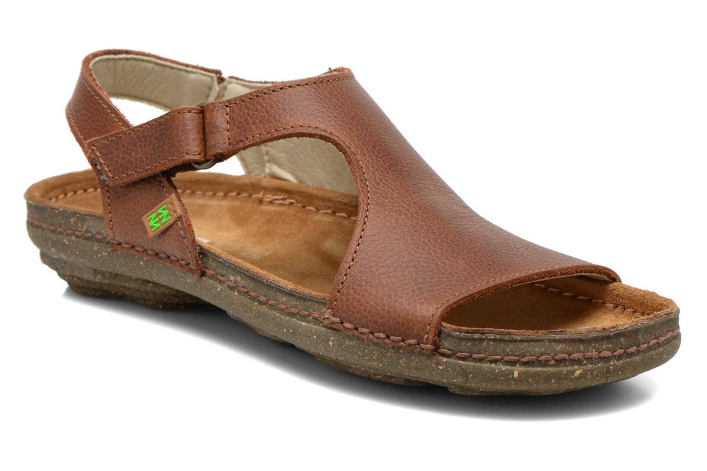 Sandales et nu-pieds El Naturalista Torcal N309 Marron vue détail/paire