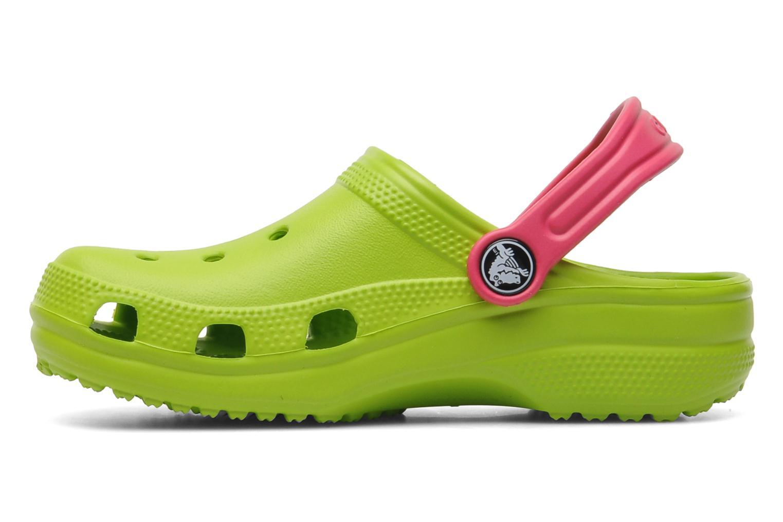 Sandales et nu-pieds Crocs Classic Kids Power Pack Vert vue face