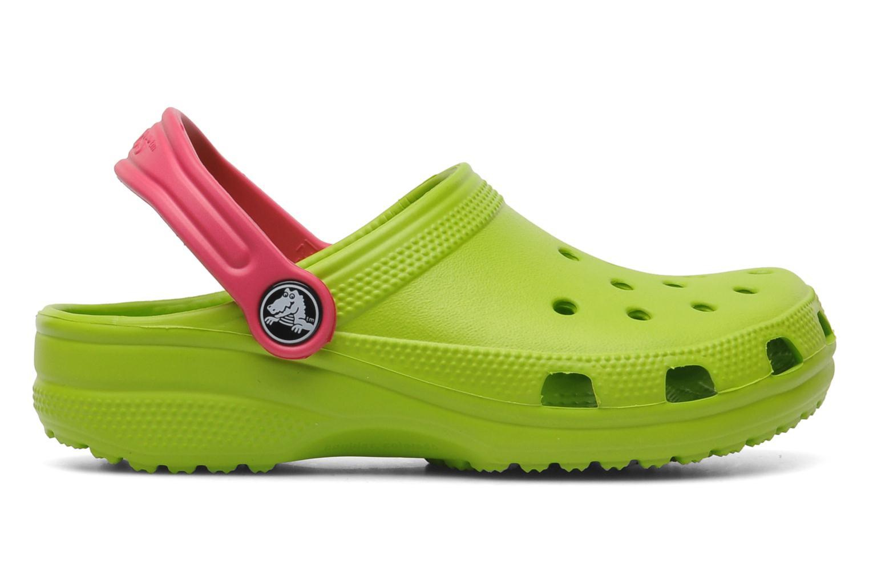 Sandales et nu-pieds Crocs Classic Kids Power Pack Vert vue derrière